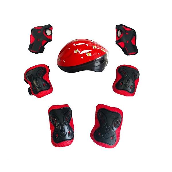 Set-protectie-rosu-cu-model