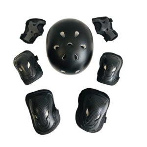 set-protectii-negru